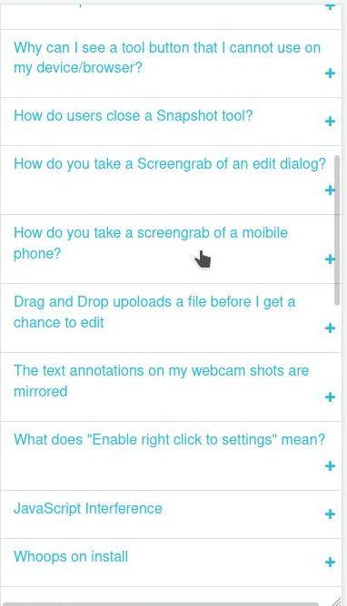 Mobile Phone screengrab